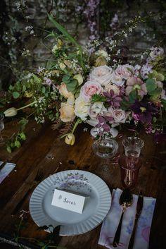 Floral Wedding Dresses, Beauteous Bridal Details and Flower Filled Table Decor | Love My Dress® UK Wedding Blog