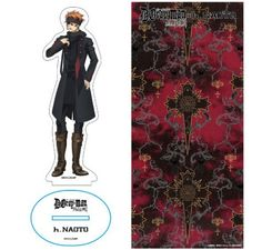 D.gray-man Hallow x h.NAOTO Acrylic Stand Lavi Gothic Lolita Anime Rare F/S
