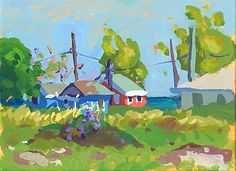 "Charles Sovek, Artist and Author | Most Recent - Exhibition Preview: ""Bahama Light"""