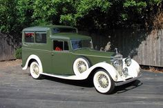 1935 Rolls Royce 20/25 Shooting Brake