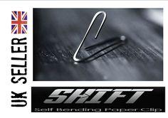 Self Bending Paper Clip close up magic trick mentalism PK shift- watch demo  | eBay