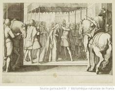 [La vie de Ferdinand Ier de Médicis]. [16], [Couronnement de la Grande Duchesse] : [estampe] / [Jacques Callot inc.] ; [Matteo Rosselli inv.] - 1