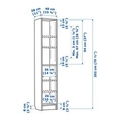 Ante Per Libreria Billy.Top Five Libreria Billy Ikea 40x28x202 Con Ante