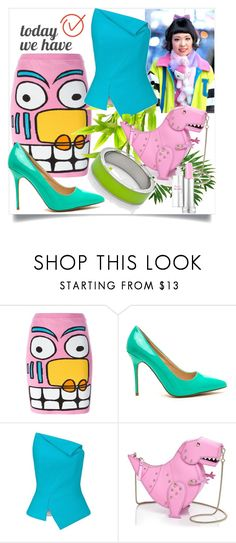 """Today We Have"" by kotynska-zielinska ❤ liked on Polyvore featuring Jeremy Scott, Galaxxxy, Roland Mouret, Kate Spade and Kenny & Co."