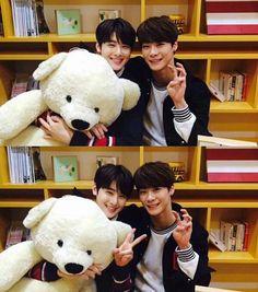 Moonbin & EunWoo I ship them !!! <3