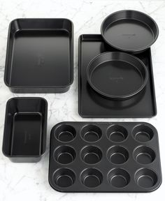 Calphalon Simply Bakeware, 6 Piece Set - Bakeware - Kitchen - Macys Bridal and Wedding Registry #macysdreamfund