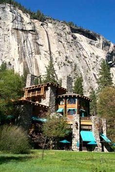 The Awahnee Resort. Yosemite, Cali
