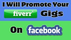 promote your fiverr gigs on 50 FB groups by paschalisblack
