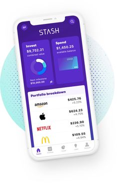 Start investing with just $5. Join millions of Americans who use Stash to invest, learn, and save. Zero add-on trading commissions. Free learning guides. Secure accounts. Financial Tips, Financial Planning, Ways To Save Money, How To Make Money, Investing Apps, Bank Teller, Cash Now, Investment Advice, Marketing Data