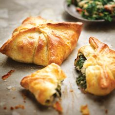 Taste Mag | Spinach-and-bacon pies with cream-cheese pastry @ http://taste.co.za/recipes/spinach-and-bacon-pies-with-cream-cheese-pastry/
