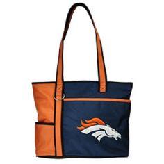 New Gameday Tote Purse Bag Nfl Licensed Denver #Denver Embroidered Logo Gift from $37.95