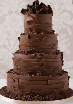 437 Best Chocolate Wedding Cakes Images Birthday Cakes Chocolate