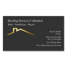 roofing construction business cards construction business cards construction manager roofing services roofing contractors - Roofing Business Cards
