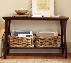 Metropolitan Console Table #potterybarn