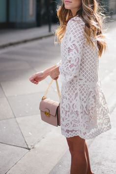 lace + pink