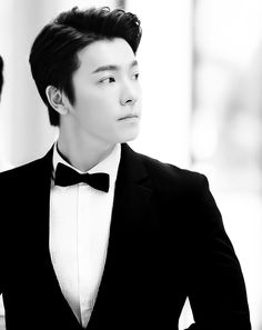 Pretty boy in a suit