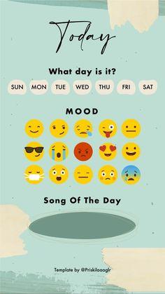 What Day Is It, Bingo Games, Mood Songs, Templates, Instagram, Black, Stencils, Black People, Vorlage