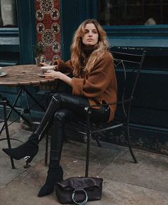 """10.8k Likes, 47 Comments - & Other Stories (@andotherstories) on Instagram: """"A cup of joe, please and thank you. Regram @madame.jules in our Oversized Side-Slit Turtleneck.…"""""""
