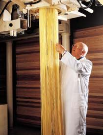 Giuseppe Cocco factory. He started making pasta at age 14.