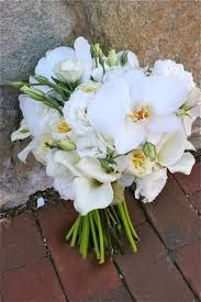 Image result for winter wedding bouquets lilies