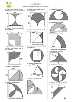Today you can define mental math in various different ways. Some would say, memorizing times table and remembering the solutions can form the part of mental mathematics. Geometry Formulas, Mathematics Geometry, Geometry Worksheets, Geometry Activities, Physics And Mathematics, Math Formulas, Teaching Geometry, Perimeter Worksheets, Math Formula Chart