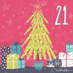 Day 21 – Presents all wrapped up under the Christmas tree