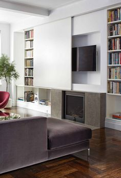 Narrow Living Room, Living Room Tv, Living Room Furniture, Small Living Room Ideas With Tv, Furniture Nyc, Furniture Movers, Pipe Furniture, Furniture Layout, Furniture Ideas