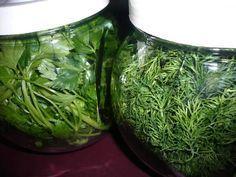 Maydanoz, Dereotu, Roka Gibi Yeşillikler Buzdolabında Bozulmadan Nasıl Saklanır?                        -  Sibel Göktürk #yemekmutfak