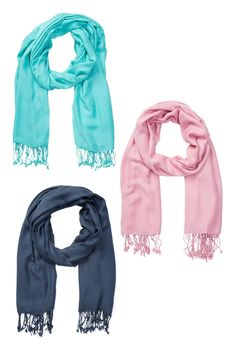 Pashmina Scarves - Set of 3