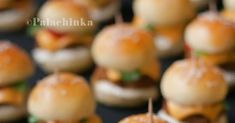The Kitchen Food Network, Mini Hamburgers, Hot Wheels Party, Appetisers, Finger Foods, Food Network Recipes, Fig, Sweet Recipes, Sushi
