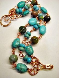 ANAINC JEWELRY | Strand Turquoise Bracelet. by shannon