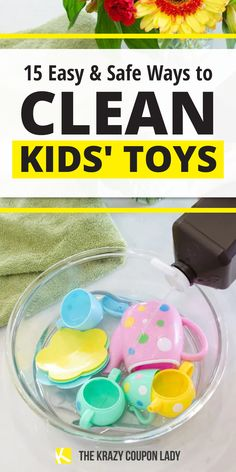 It's probably a good time for a toy deep clean, disinfect, & sanitize! The Krazy Coupon Lady answers the questions: how do I clean this toy? Can I put stuffed animals in the washer or in the dryer? Can I clean toys in the dishwasher? We're also showing how to: detangle barbie hair hair, sanitize Legos, deodorize baby toys, get crayon off books and toys, prevent bath toys from getting moldy, get crayon off the wall, & even disinfect wooden toys. Kid friendly cleaning tips for the kids' playroom! Weekly Cleaning, Cleaning Toys, Deep Cleaning, Cleaning Hacks, Barbie Hair, Coupon Lady, Bath Toys, Me Clean, Stuffed Animals