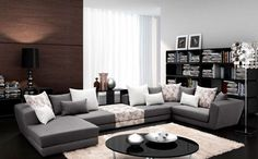 Small Living Rooms, My Dream Home, Minimalism, Sweet Home, Couch, Minimal Living, Modern Living, Furniture, Home Decor