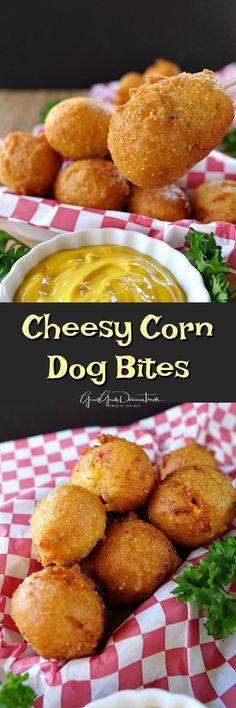 1704 best ramadan savouries images on pinterest cooking food cheesy corn dog bites forumfinder Gallery