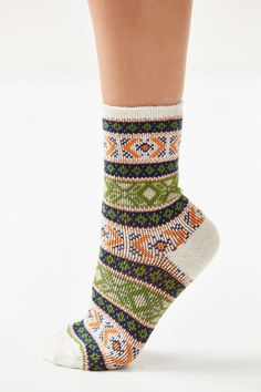 Anonymous Ism Intarsia Sock