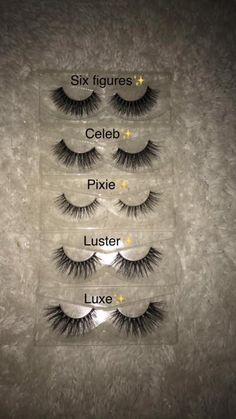 Image of Luxter mink lashes Glam Makeup, Makeup Inspo, Beauty Makeup, Lash Names, For Lash, Makeup Guide, False Lashes, Fake Eyelashes, Eye Make Up