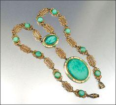 Czech Art Deco Necklace