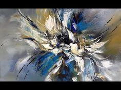 Acrylmalerei-Acryl art painting-Einfach Malen-Easy Painting-Im Rausch der Farben --- 1 --- - YouTube #abstractart