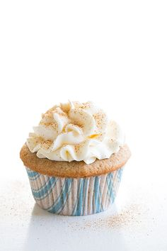 Snickerdoodle Cupcakes- these are amazing! They are loaded with cinnamon and they are so soft and fluffy and the frosting is my favorite buttercream ever!