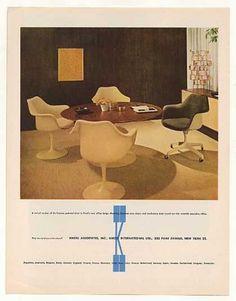 #Saarinen Tulip Chair ad - 1960s