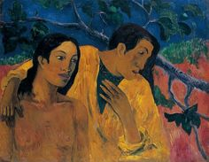 Eugène Henri Paul Gauguin 7 June 1848 – 8 May was a French post-Impressionist artist. Unappreciated until after his death, Gauguin is now recognized for his experimental use of color and Synthetist style that were distinctly different from Impressionism. Paul Gauguin, Henri Matisse, Van Gogh, Most Famous Paintings, Impressionist Artists, Painting Gallery, Art Moderne, French Art, Pablo Picasso