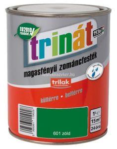 Trinát magasfényű zománcfesték 601 zöld 1L