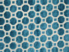 Modern Teal Fabric  Velvet Designer Fabric by greenapplefabrics, $48.00