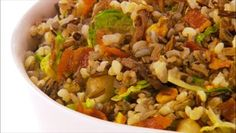 """From Giada at Home """"Happy Holidays"""" episode... Christmas Stuffing w/Bacon"""
