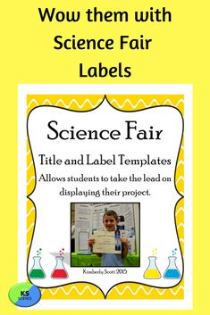 These editable templates will help students take the lead on their science fair project. Create a decorative display board. All labels are set to fit correctly on a 3 ft by 4 ft board. Student can change the font or color. Includes title for the top center of the board.