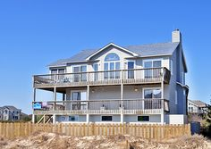 Family Footprints - J21024 is an Outer Banks Semi-Oceanfront vacation rental in Whalehead Corolla NC that features 5 bedrooms and 2 Full 2 Half bathrooms. This rental has a private pool, wifi, and a hot tub among many other amenities. Click here for more.