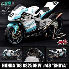 "HONDA '08 RS250RW #48 ""shoya"" MODEL"