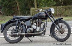 panther 350cc ohv 1951 rechts