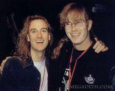 Dave Mustaine & Dave Ellefson