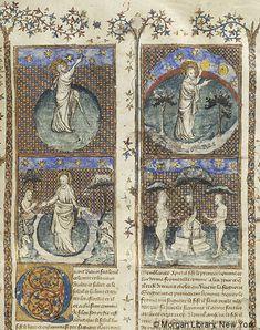 Histoire universelle depuis la Création jusqu'a César, MS M.516 fol. 13r - Images from Medieval and Renaissance Manuscripts - The Morgan Library & Museum